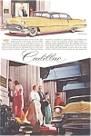 Click here to enlarge image and see more about item jan1575: 1956 Cadillac  Four Door Ad jan1575