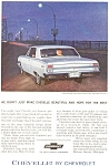1964 Chevrolet  Chevelle Coupe Ad