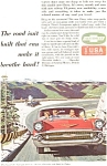 Click here to enlarge image and see more about item jan1586: 1957 Chevrolet   Ad jan1586