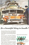 Click here to enlarge image and see more about item jan1590: 1956 Chevrolet  Bel Air Sedan Ad jan1590