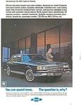 1981 Chevrolet Caprice Classic Ad