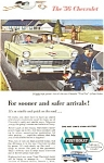 Click here to enlarge image and see more about item jan1598: 1958 Chevrolet  Two Ten Sedan Ad jan1598
