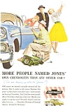 Click here to enlarge image and see more about item jan1679: 1956 Chevrolet  Ad