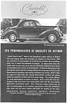 1935 Chevrolet  Sport Coupe Ad
