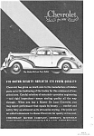 Click here to enlarge image and see more about item jan1688: 1935 Chevrolet Town Sedan Ad