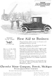 Click here to enlarge image and see more about item jan1692: 1924 Chevrolet  Coupe For Business Ad