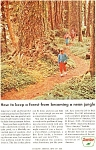 Sinclair Oil Save A Forest Ad