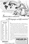 Sinclair Oil World Trade  Ad