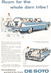 Click here to enlarge image and see more about item jan1878: 1958 DeSoto Station Wagon  AD