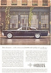 Click here to enlarge image and see more about item jan1891: 1961 Lincoln Continental 4-Door  Ad jan1891