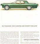 Click here to enlarge image and see more about item jan1897: 1963 Lincoln Continental  $6,270.00 Ad