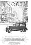Click here to enlarge image and see more about item jan1977: 1927 Lincoln Sedan Ad