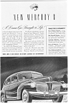 Click here to enlarge image and see more about item jan1985: 1941 Mercury 8 4-Door  Ad