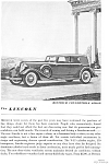 1934 Lincoln Dietrich Convertible Ad jan1997