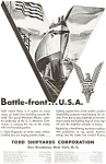 Todd Shipyards WWII  Ships for Victory Ad jan2088