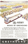 Greyhound WWII  Ad