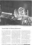 Click here to enlarge image and see more about item jan2094: Boeing WWII B29 Engine Testing Ad jan2094