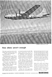 Click here to enlarge image and see more about item jan2491: Boeing B 29  Ad jan2491