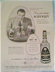 Click here to enlarge image and see more about item jan249: Schenley Whiskey Ad with Ed Sullivan