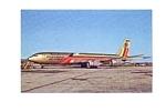 Ecuatoriana Cargo 707-321C Postcard