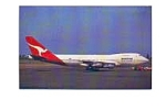 Qantas 747-238B Airline Postcard jan2654