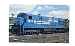 Click here to enlarge image and see more about item jan2753: Conrail Locomotive Postcard