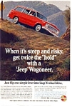 Click here to enlarge image and see more about item jan4767: Jeep Wagoneer Ad