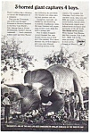 Sinclair Oil Dinoland World's Fair Ad