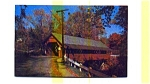 Creamery Covered Bridge VT Postcard