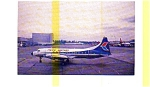 Pacific Western CV-640 Airline Postcard jul3232a