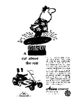 Click here to enlarge image and see more about item jun1833: Ariens Riding Lawnmower Ad jun1833