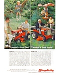 Click here to enlarge image and see more about item jun1835: Simplicity Riding Lawnmower Ad