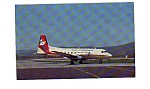 Click here to enlarge image and see more about item jun3201: Air Virginia HS-748 Airline Postcard jun3201