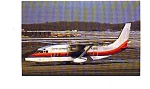 Click here to enlarge image and see more about item jun3205: United Express Shorts SD3-60 Airline Postcard jun3205
