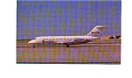 Click here to enlarge image and see more about item jun3208: Republic DC-9-15 Airline Postcard jun3208