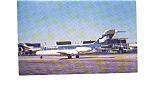 Click here to enlarge image and see more about item jun3209: Republic DC-9-15 Blue Colors Airline Postcard jun3209