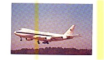 Click here to enlarge image and see more about item jun3224: Boeing E 4A Command Center Postcard jun3224