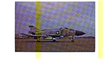 Click here to enlarge image and see more about item jun3225: F 4J Phantom II Postcard jun3225
