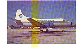 Marco Island Martin 404 Airline Postcard