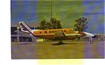 Click here to enlarge image and see more about item jun3253: Chaparral B-99  Airline Postcard