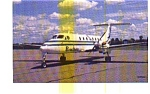 Brockway Air 1900C  Airline Postcard