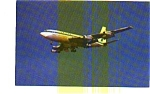 United  Airlines 720 Airline Postcard jun3279