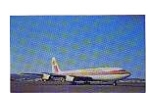 Aeroamerica  707-131 Postcard jun3292