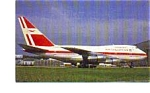 Air Mauritius 747SP-44 Airline Postcard jun3310