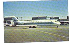 North Central DC-9 Airline Postcard jun3317
