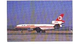 Malaysian DC-10-30 Airline Postcard jun3318