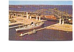 Click here to enlarge image and see more about item jun3327: Hamilton Ontario  Burlington Skyway Postcard