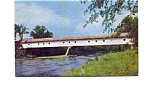 Click here to enlarge image and see more about item jun3332a: Smith Covered Bridge NH Postcard