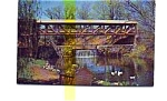 Click here to enlarge image and see more about item jun3336x: Covered Bridge  Bedford NH Postcard jun3336x