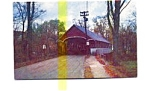 Click here to enlarge image and see more about item jun3339x: Covered Bridge  Lyndon VT Postcard